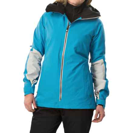 Burton [ak] Blade Gore-Tex® Snowboard Jacket - Waterproof (For Women) in Heisenberg/True Black/Chill - Closeouts